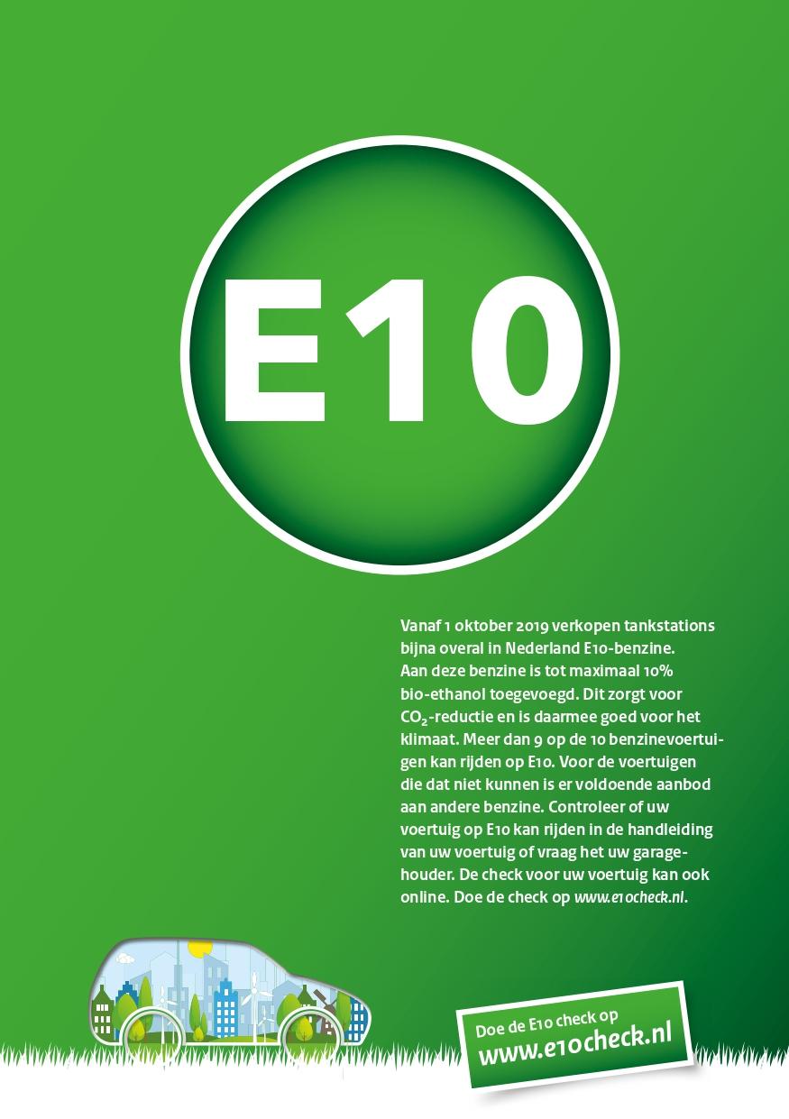 Ton Medendorp tuinmachines - E10-brandstof